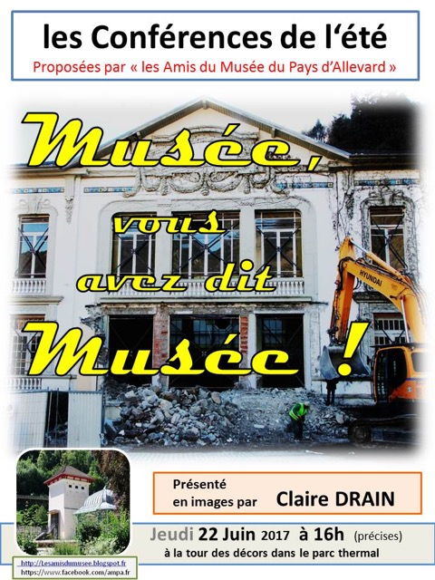 Conference 22.06.Musee vous avez dit Musee