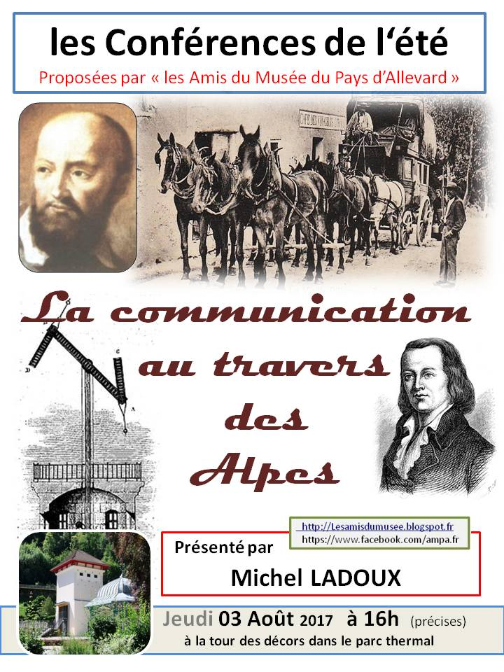 la communication au travers des Alpes